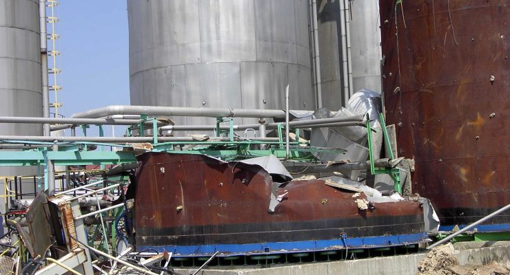 démolition cuve RF2