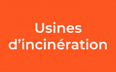 Usines d'incinération