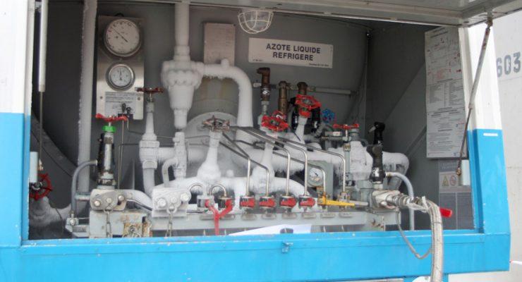 usine tuyaux