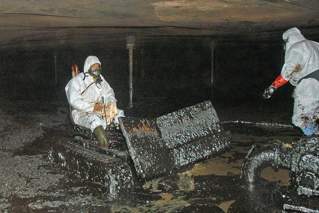 Nettoyage dégazage traditionnel