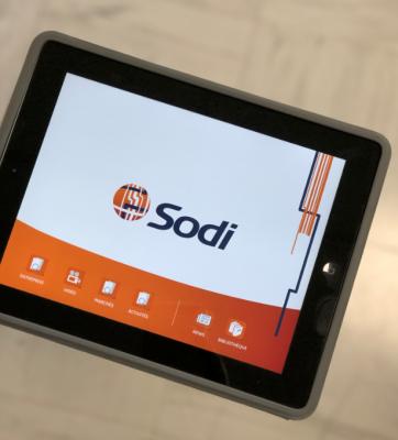 SODI application Ipad
